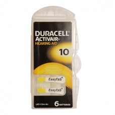 Duracell kuulokojeparisto 10