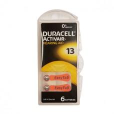 Duracell kuulokojeparisto 13