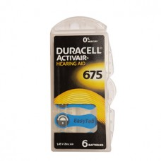 Duracell kuulokojeparisto 675
